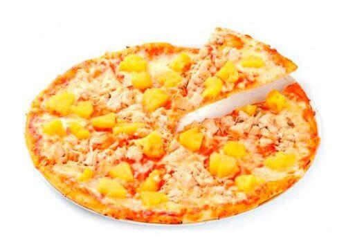 Тропик -детская пицца